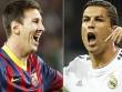 Messi ngang Ronaldo top 10 VĐV hàng đầu thế giới
