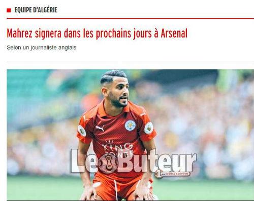 """Chuyển nhượng Arsenal: Sắp có Mahrez với """"giá ưu đãi"""" - 1"""