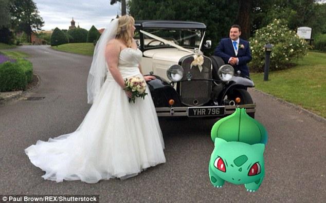 Cô dâu sửng sốt khi lễ cưới thành đấu trường Pokemon - 7