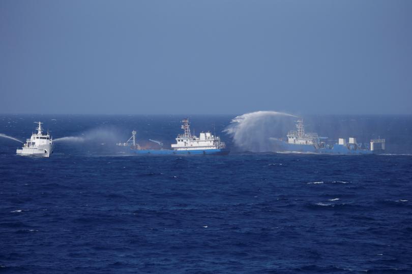 Nga-Trung Quốc tập trận chung ở Biển Đông trong tháng 9 - 1