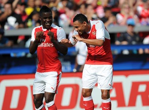 MLS All-Stars - Arsenal: Cuộc chiến các ngôi sao - 1
