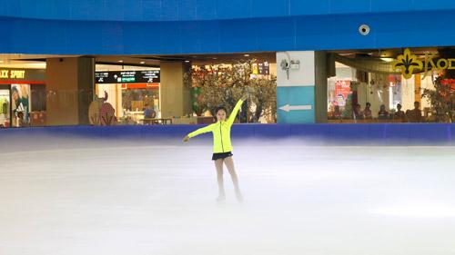 2 thí sinh nhí Việt Nam lần đầu tiên giành tấm vé dự Giải trượt băng Châu Á - 1