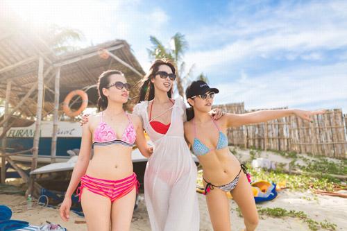 """Hà Anh """"đốt nóng"""" bờ biển Đà Nẵng trước đám cưới - 5"""