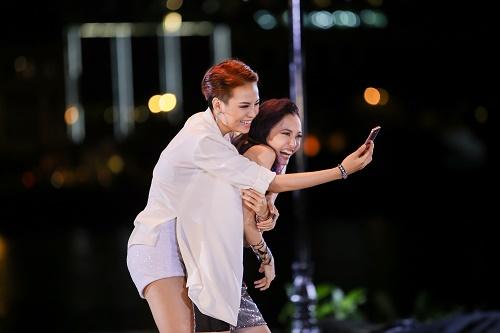 Vụ 2 hot girl Vietnam's Next Top cãi nhau chỉ là giả? - 1