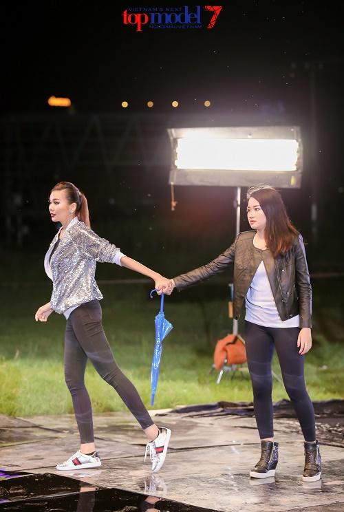 Vụ 2 hot girl Vietnam's Next Top cãi nhau chỉ là giả? - 6