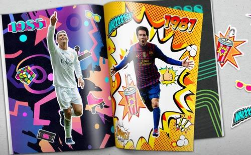 Đọ đội hình sinh cùng năm: Messi sát cánh Higuain - 1