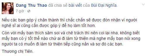 """Loạt sao lên tiếng khi vợ chồng Thủy Tiên bị """"ném đá"""" - 6"""