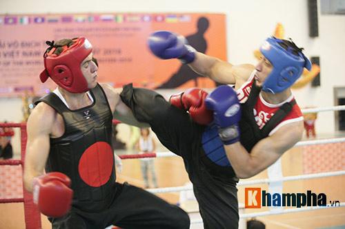 Rung sàn màn đấu võ Việt của hai ông Tây hạng 90kg - 6