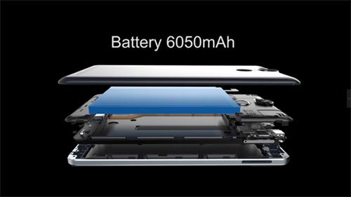 "Ulefone Power 6050mAh smartphone ""5 phút sạc đàm thoại 2 giờ"" - 1"