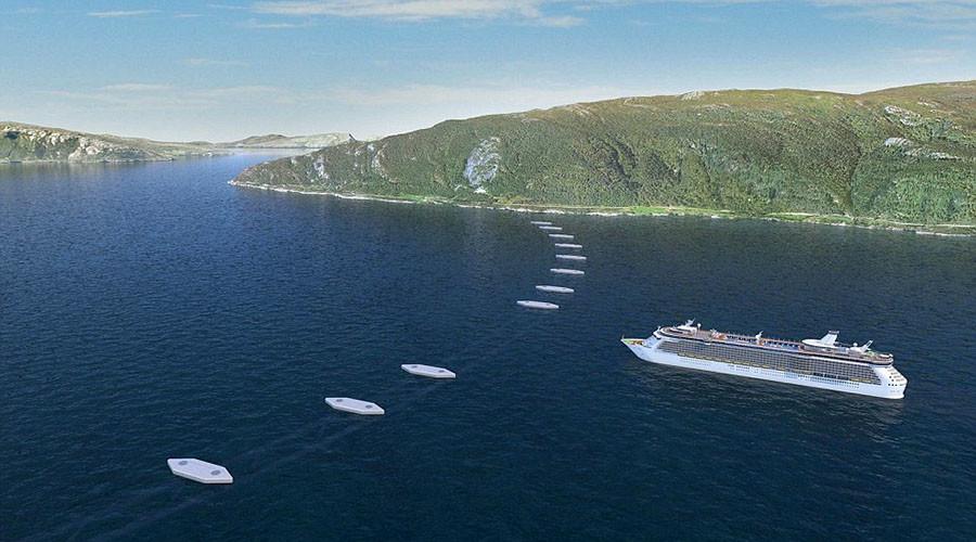 Na Uy xây đường hầm nối đảo lửng lơ giữa lòng đại dương - 2