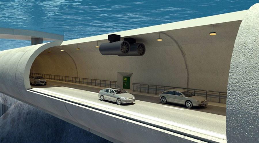 Na Uy xây đường hầm nối đảo lửng lơ giữa lòng đại dương - 1