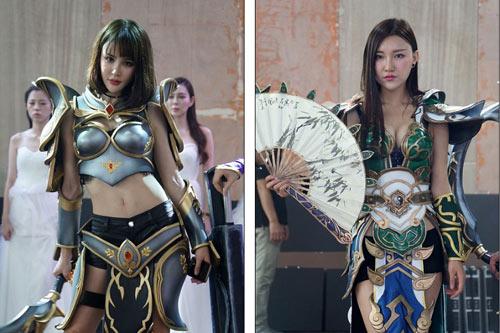 Người mẫu game Trung Quốc hết mùa mặc hở - 1