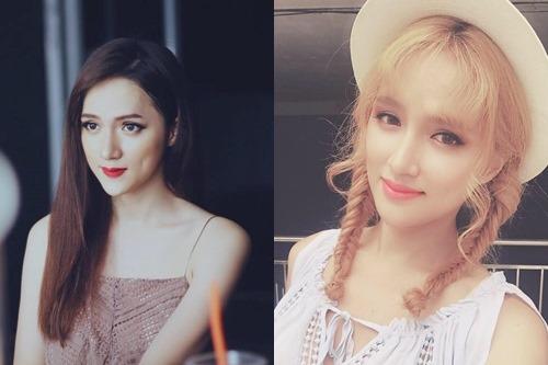 """Không tin nổi cô gái """"tóc vàng hoe"""" này là Hương Giang Idol - 2"""