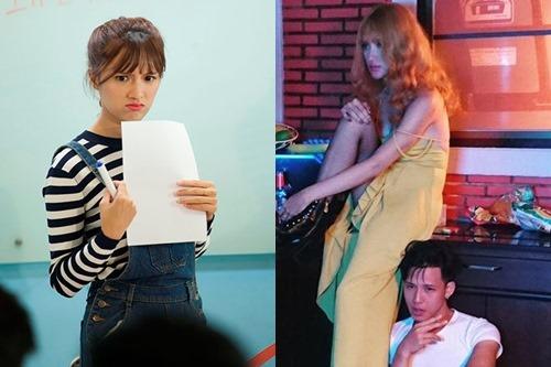 """Không tin nổi cô gái """"tóc vàng hoe"""" này là Hương Giang Idol - 4"""