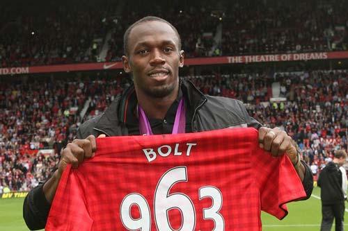 Usain Bolt đề nghị được đá thay Martial ở MU - 1