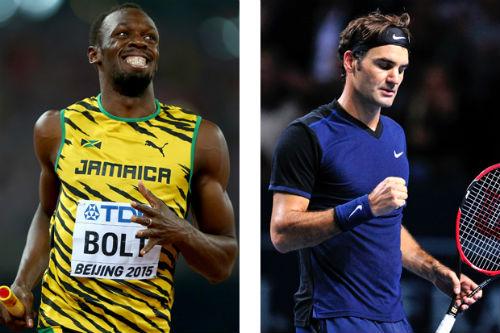 Bí quyết giữ sức của Federer, Usain Bolt - 1