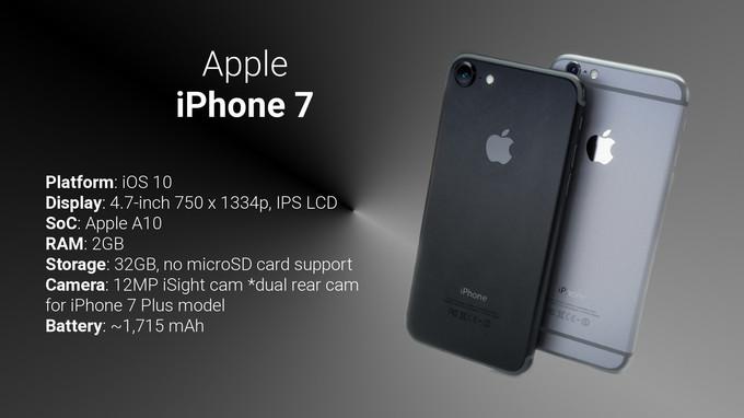 So sánh sơ bộ giữa Samsung Galaxy Note 7 với iPhone 7/7 Plus - 3