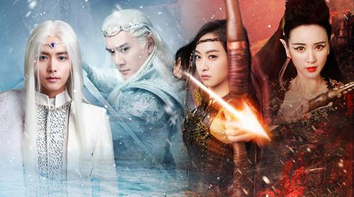 Dàn diễn viên đẹp mê ảo trong phim Ice Fantasy - 1