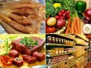 """Những thực phẩm ngon, sạch nên tích trữ để """"chống bão"""""""