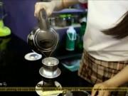 Độc đáo phong vị cà phê nơi phố núi