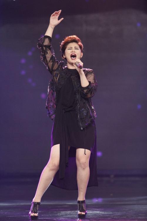 """Cô gái Philippines """"bùng nổ"""" ở Vietnam Idol nhờ hit Thu Minh - 7"""