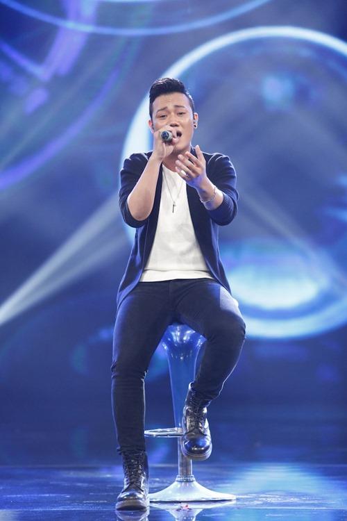 """Cô gái Philippines """"bùng nổ"""" ở Vietnam Idol nhờ hit Thu Minh - 3"""
