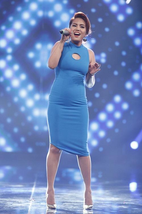 """Cô gái Philippines """"bùng nổ"""" ở Vietnam Idol nhờ hit Thu Minh - 2"""