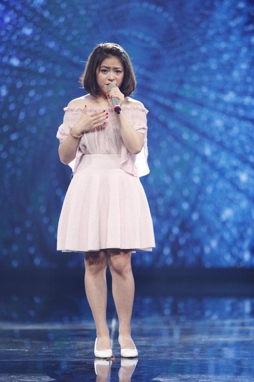 """Cô gái Philippines """"bùng nổ"""" ở Vietnam Idol nhờ hit Thu Minh - 8"""