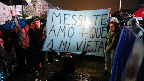 Messi từ chối dự vòng loại World Cup cùng Argentina - 1