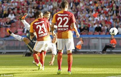 Chi tiết MU – Galatasaray: Mata góp vui (KT) - 3