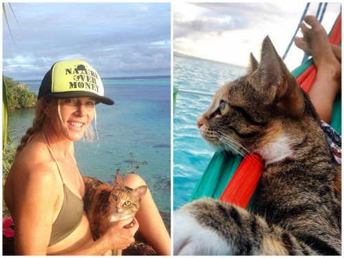 Bài học đắt giá của cô gái du lịch thế giới cùng mèo cưng - 2