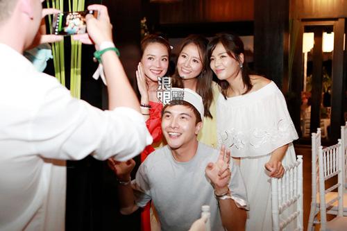 Dàn khách mời toàn sao dự tiệc của Hoắc Kiến Hoa-Lâm Tâm Như - 10