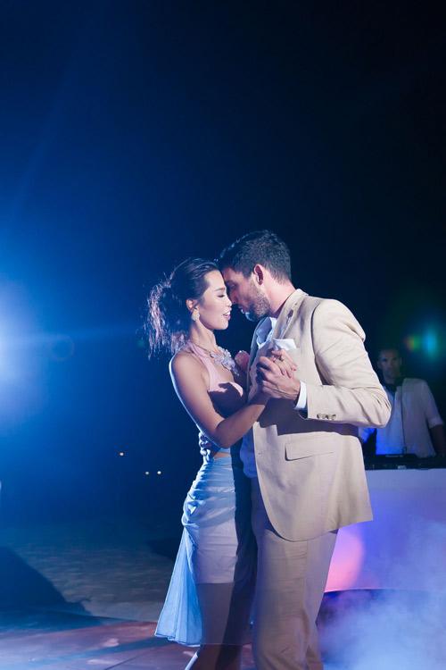 Hà Anh cực nóng bỏng trong dạ tiệc sau lễ cưới - 5