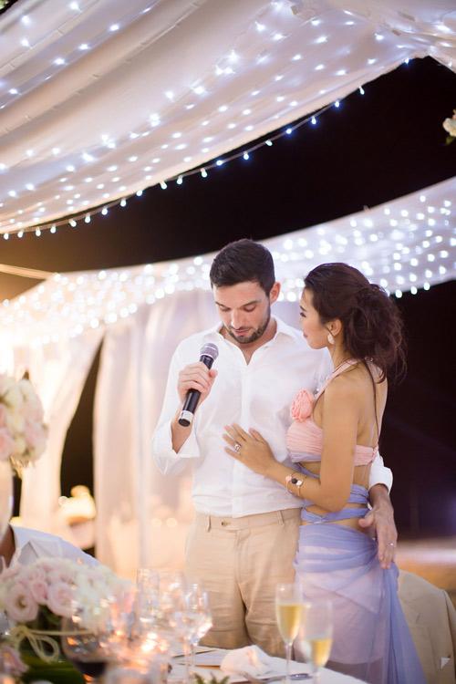 Hà Anh cực nóng bỏng trong dạ tiệc sau lễ cưới - 2