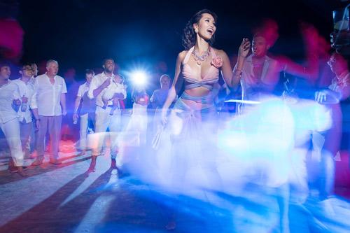 Hà Anh cực nóng bỏng trong dạ tiệc sau lễ cưới - 10