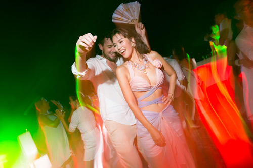 Hà Anh cực nóng bỏng trong dạ tiệc sau lễ cưới - 7