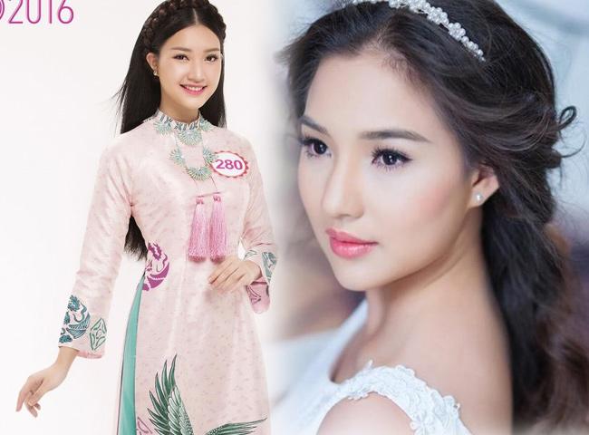 Cô có vẻ đẹp đậm chất Huế dịu dàng, nữ tính, khá giống Kiều Oanh, vợ của cố người mẫu Duy Nhân.