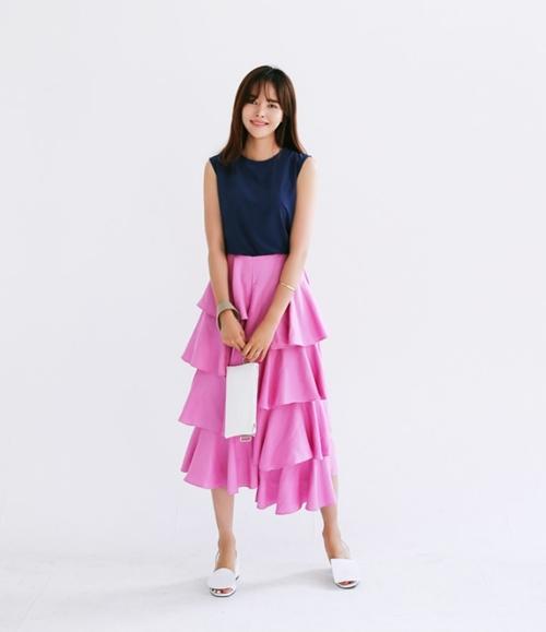 4 kiểu chân váy vừa hợp mốt vừa dễ phối đồ - 7