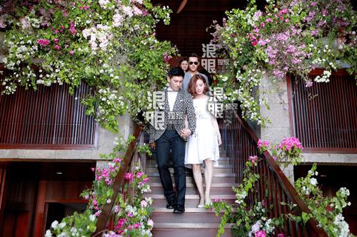 Hoắc Kiến Hoa - Lâm Tâm Như rạng ngời trong lễ cưới - 8