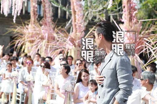 Hoắc Kiến Hoa - Lâm Tâm Như rạng ngời trong lễ cưới - 9