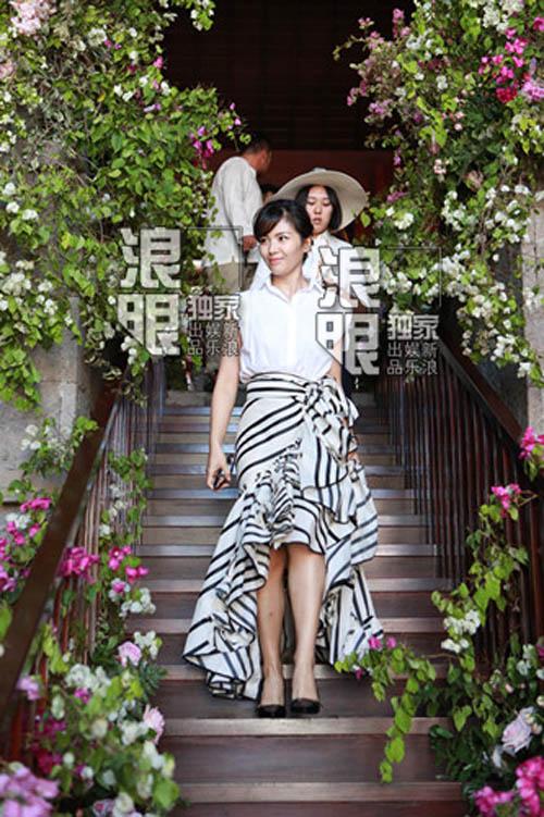 Hoắc Kiến Hoa - Lâm Tâm Như rạng ngời trong lễ cưới - 10