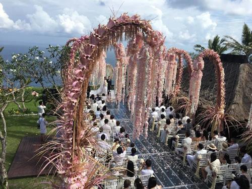Hoắc Kiến Hoa - Lâm Tâm Như rạng ngời trong lễ cưới - 16