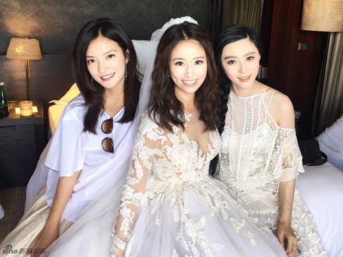 Hoắc Kiến Hoa - Lâm Tâm Như rạng ngời trong lễ cưới - 17