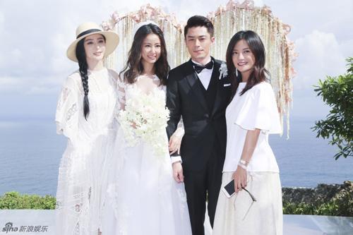 Hoắc Kiến Hoa - Lâm Tâm Như rạng ngời trong lễ cưới - 19
