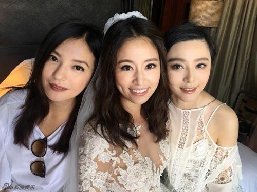Hoắc Kiến Hoa - Lâm Tâm Như rạng ngời trong lễ cưới - 18