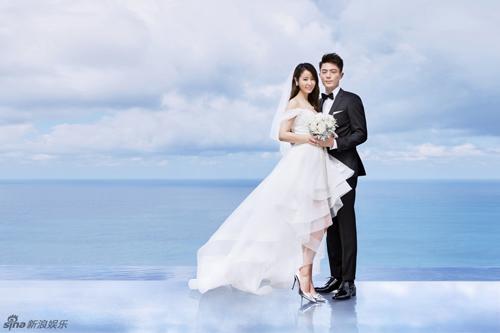 Ngắm trọn bộ ảnh cưới ngọt ngào của Lâm Tâm Như - 1