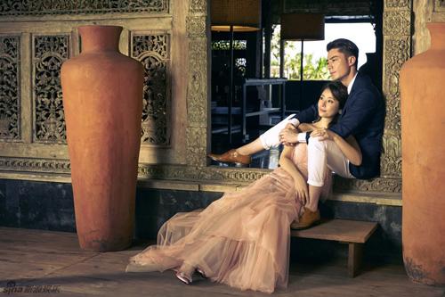 Ngắm trọn bộ ảnh cưới ngọt ngào của Lâm Tâm Như - 3