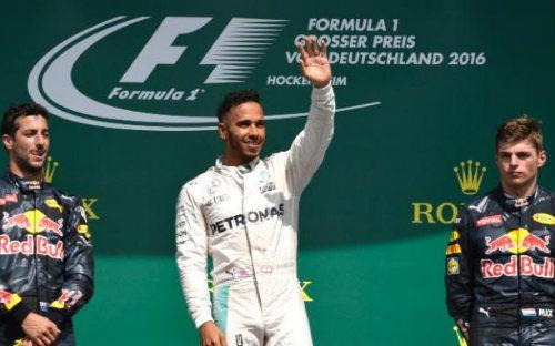 F1, German GP: Rosberg ôm hận, Hamilton lên đỉnh - 4