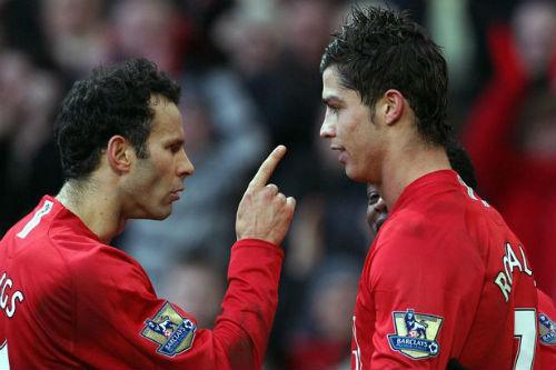 """Tiết lộ: Giggs suýt """"tẩn"""" Ronaldo khi còn ở MU - 1"""