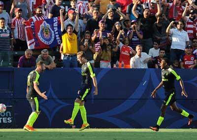 Chi tiết Guadalajara - Arsenal: Chỉ có bàn danh dự (KT) - 3
